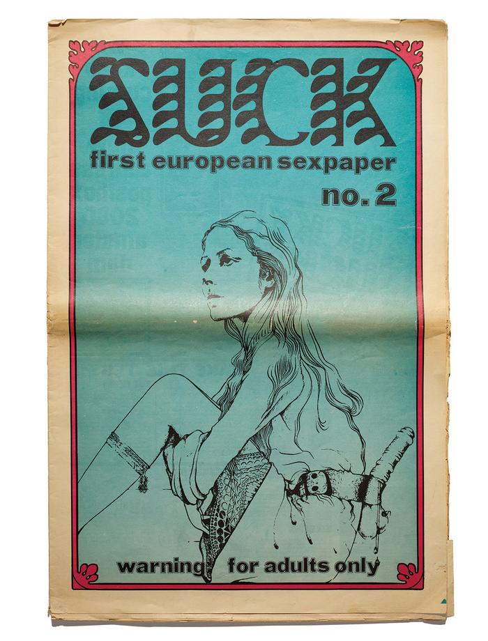 Suck no. 2, March 1970.