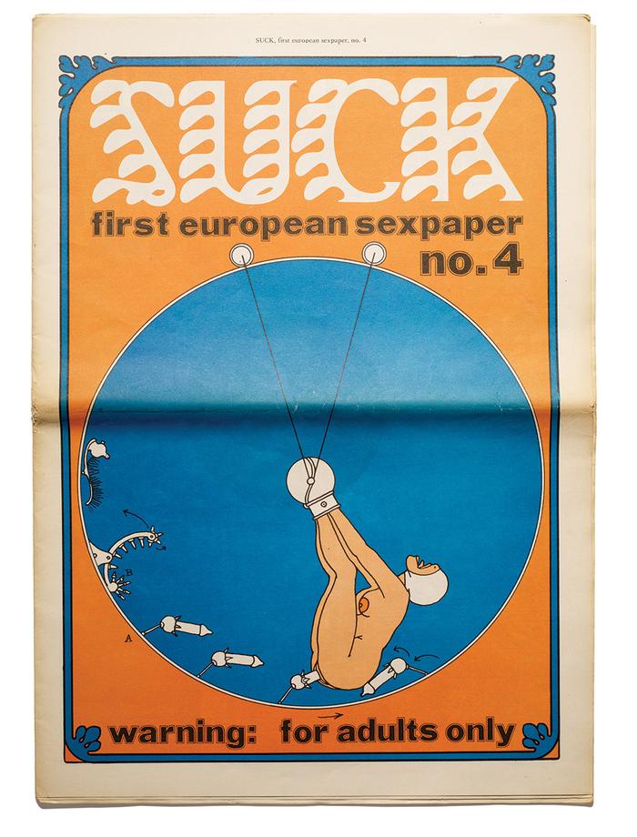 Suck no. 4, November 1970.