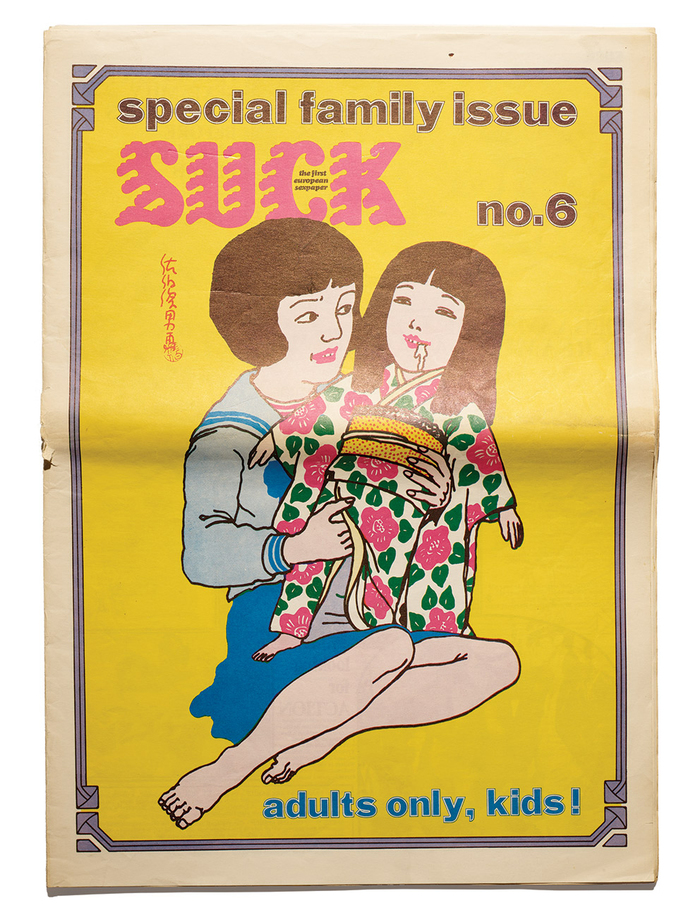 """Suck no. 6, October 1971, """"Special family issue"""". Adults only, kids!"""