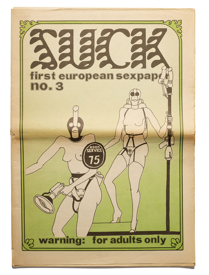 Suck no. 3, August 1970.