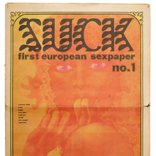 <cite>Suck: First European Sex Paper</cite>, issues 1–8