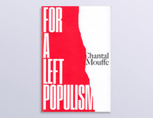 <cite>For a Left Populism</cite> by Chantal Mouffe