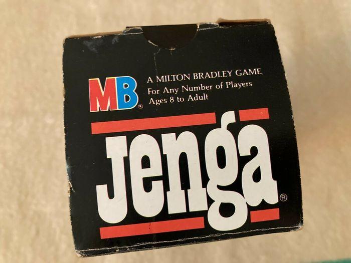 Jenga game packaging (1986) 3