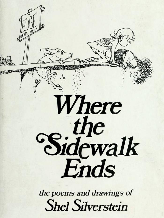 Where the Sidewalk Ends by Shel Silverstein 1
