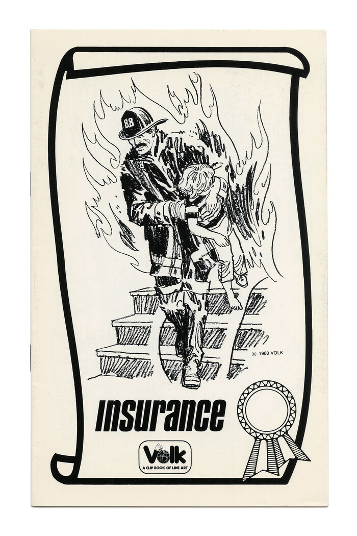 """Insurance"" (No. 764) ft.  Bold Italic in lowercase, with an omitted i dot."