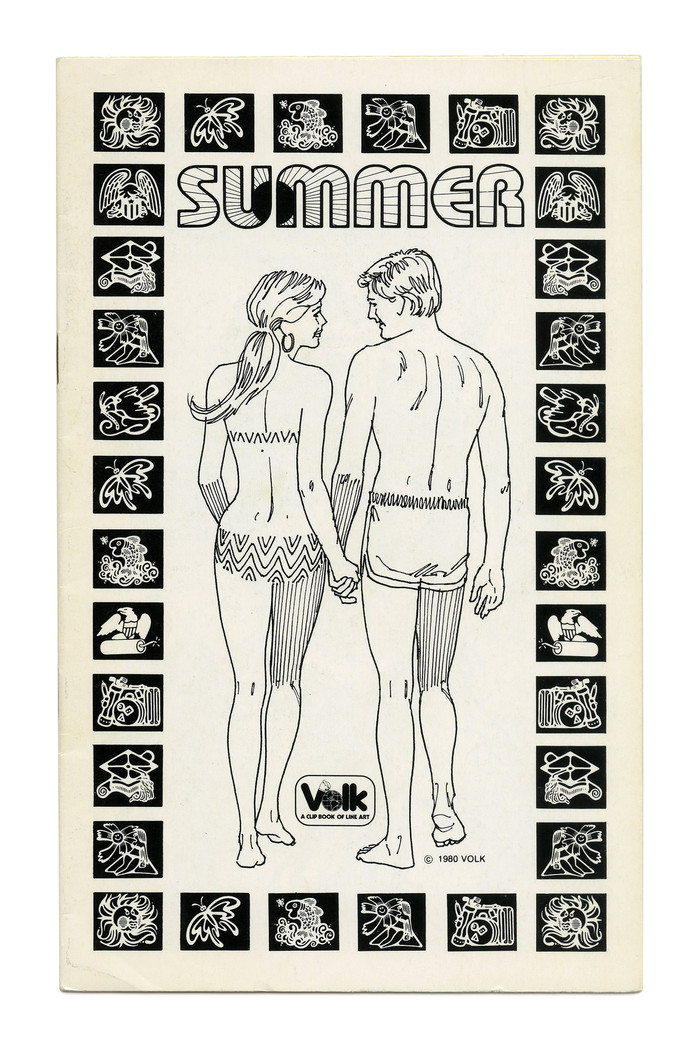"""Summer"" (No. 750) ft.  Outline with the alternate M, filled with sunbeams."