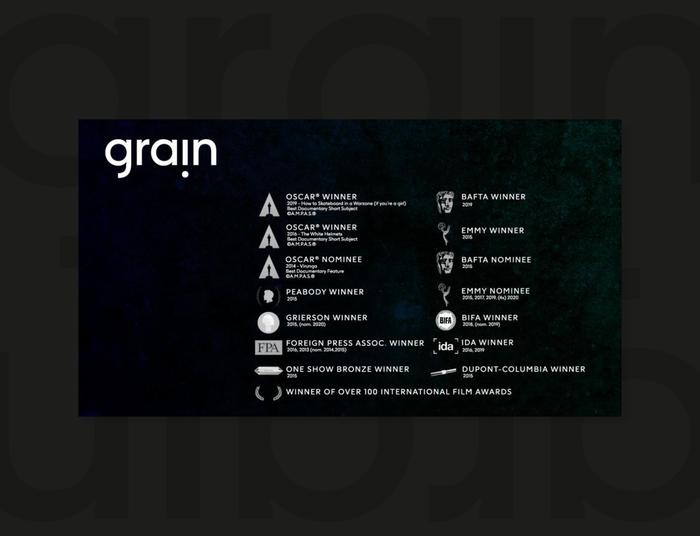 Grain Media identity 6