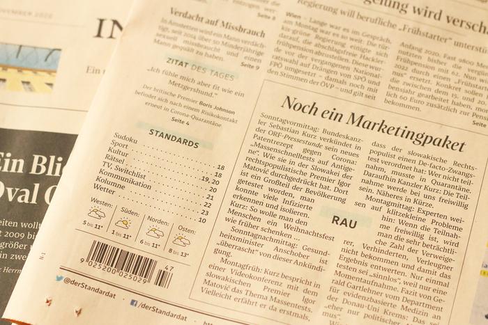 Der Standard (2020 redesign) 6