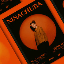 Nina Chuba tour posters 2021