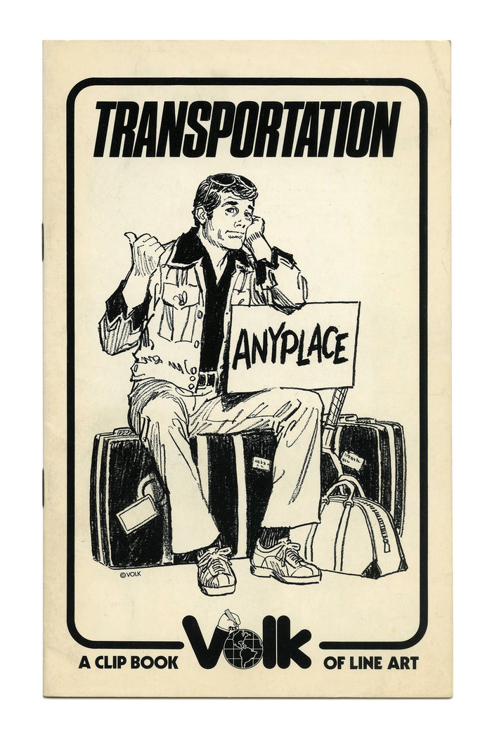 """Transportation"" (No. 715) ft.  Italic."