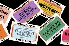 Irvington Theater identity