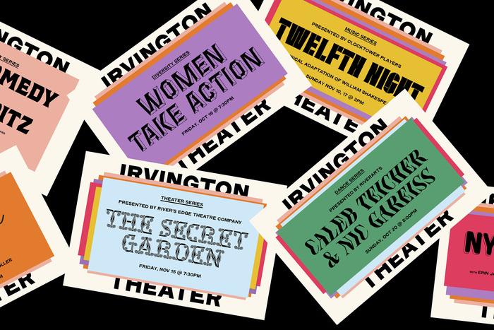 Irvington Theater identity 1