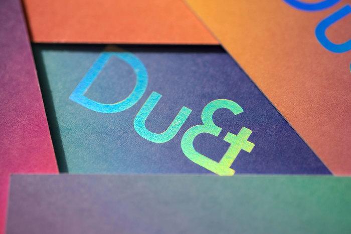 DuEt brand identity 2