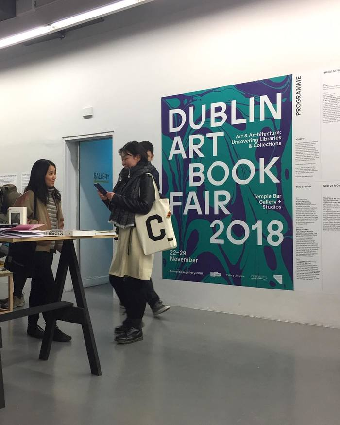Dublin Art Book Fair 2018 and 2019 6