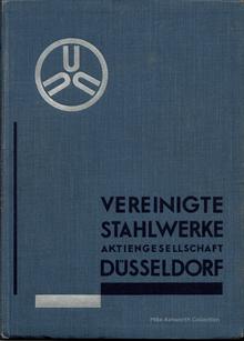 <cite>Allgemeiner Führer</cite> by Vereinigte Stahlwerke AG (1930)