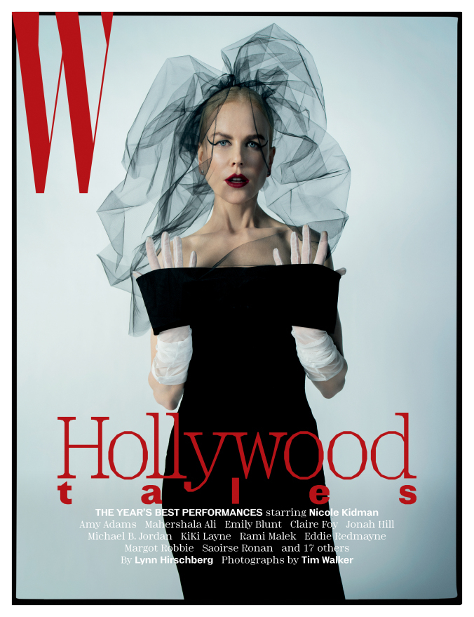 "W magazine, January 2019, ""Hollywood tales"" 5"