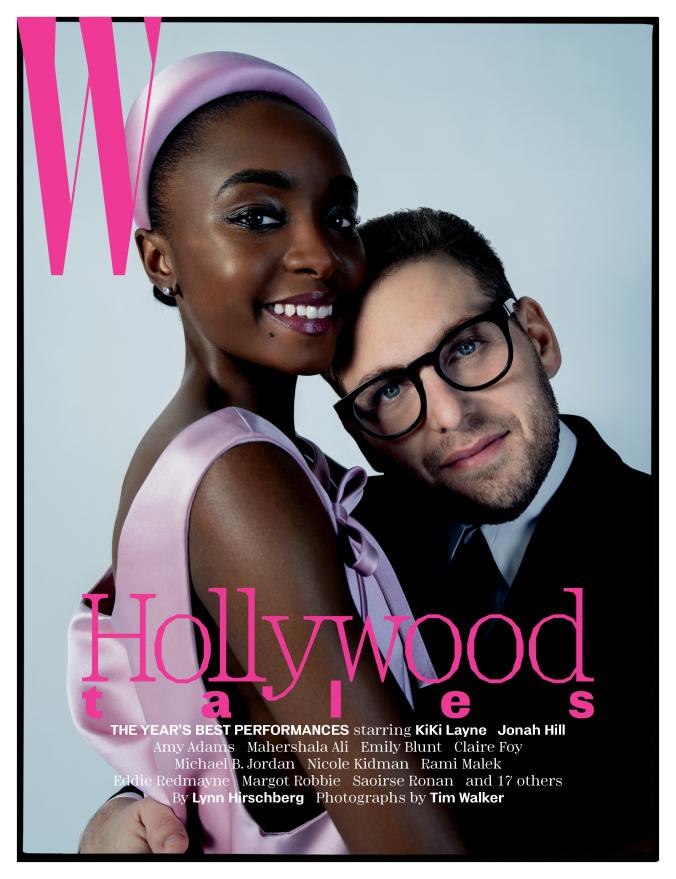 "W magazine, January 2019, ""Hollywood tales"" 1"