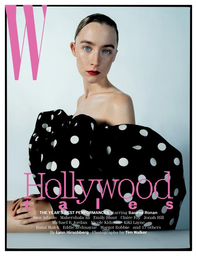 "W magazine, January 2019, ""Hollywood tales"" 6"