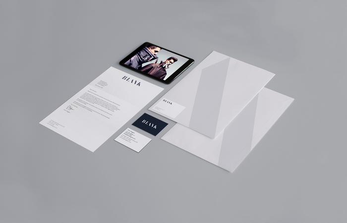 Blank Digital brand identity 3