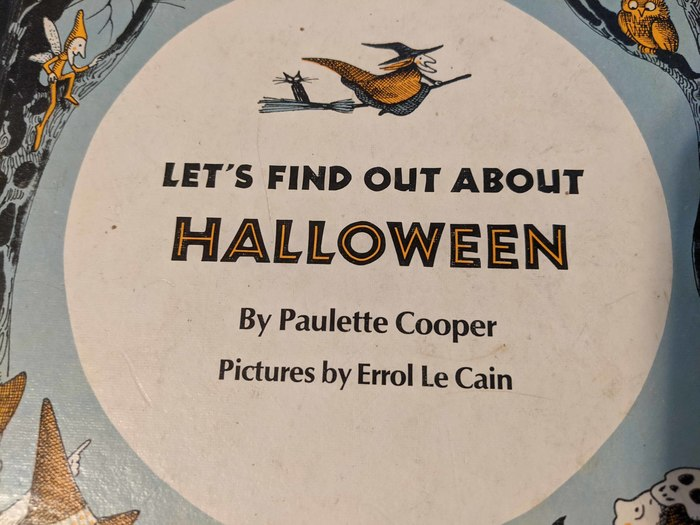 Let's Find Out About Halloween by Paulette Cooper 2