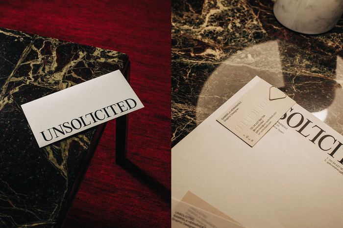 Unsolicited visual identity 3