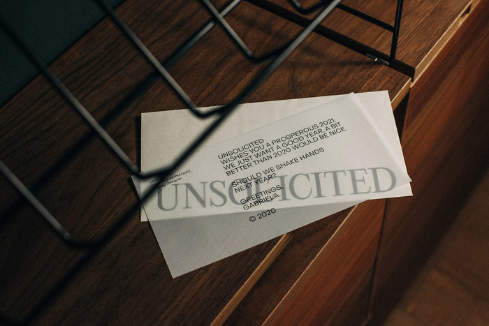 Unsolicited visual identity 6