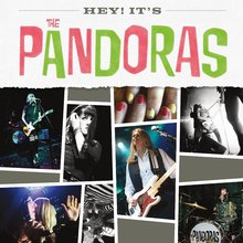 The Pandoras – <cite>Hey! It's The Pandoras</cite> album art