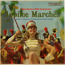 The Band of America<cite> – Jubilee Marches</cite> album art