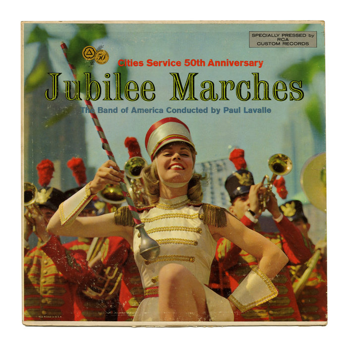 The Band of America – Jubilee Marches album art