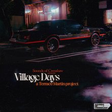 Terrace Martin – <cite>Village Days</cite> album art