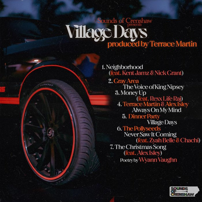 Terrace Martin – Village Days album art 2