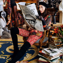 """<cite>The Couture News</cite>, """"Where is the real Monsieur Christian Lacroix?"""""""