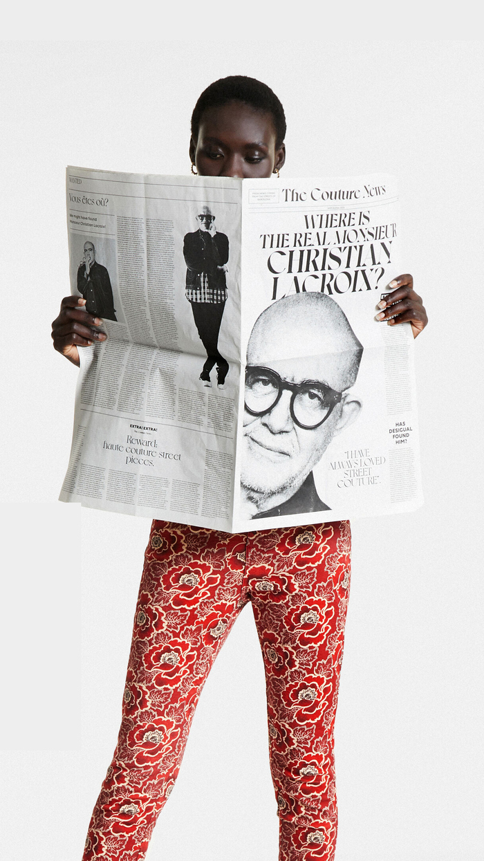"""The Couture News, """"Where is the real Monsieur Christian Lacroix?"""" 2"""