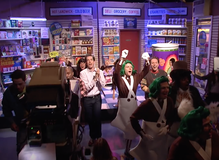 "<cite>Saturday Night Live – </cite>""Bodega Bathroom"" sketch"