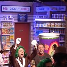 "<cite>Saturday Night Live – </cite>""Bodega Bathroom"" sketch"