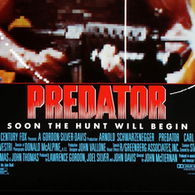 <cite>Predator</cite> (1987) movie poster
