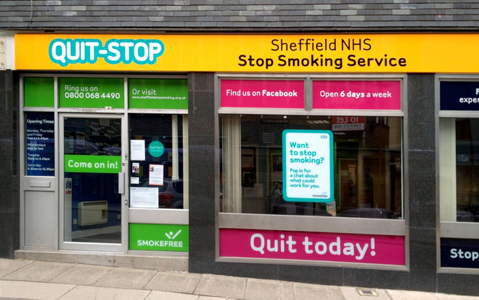 Quit-Stop centre offering advice and support