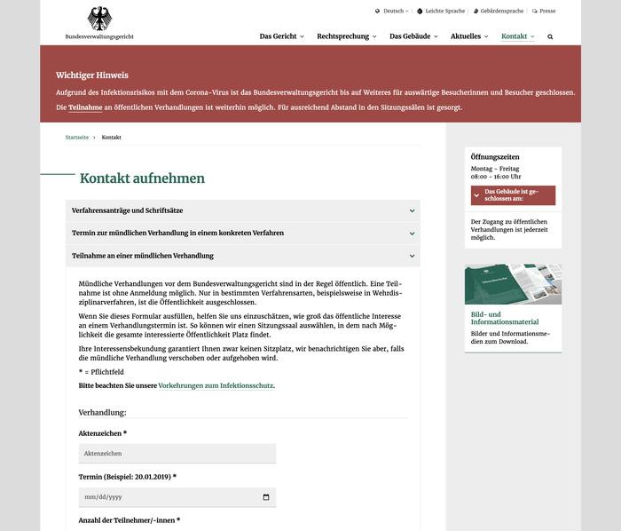 Bundesverwaltungsgericht website 12