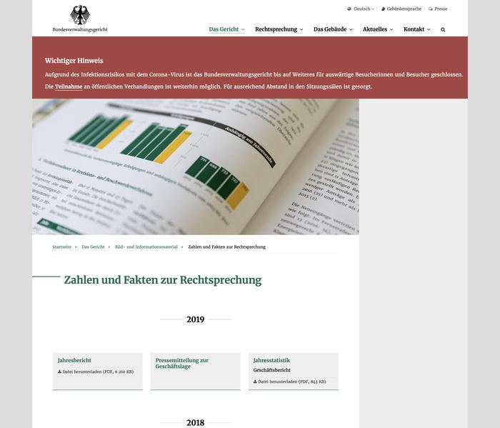 Bundesverwaltungsgericht website 7