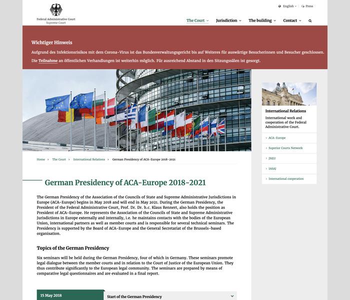 Bundesverwaltungsgericht website 5