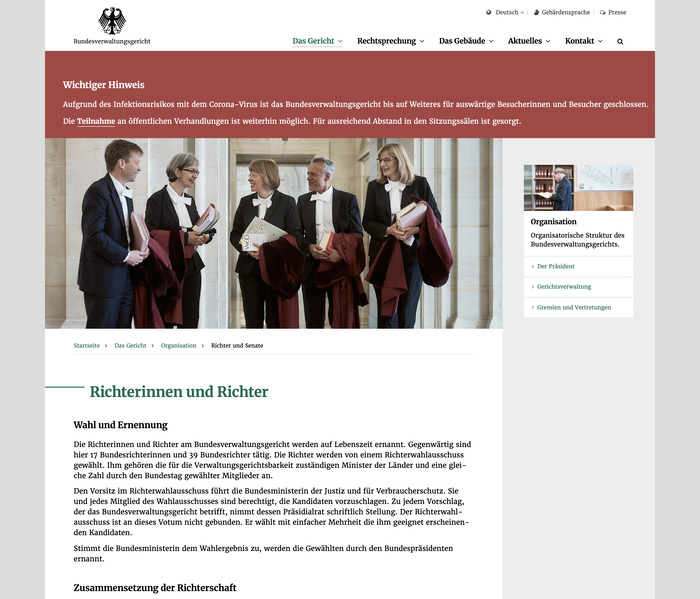 Bundesverwaltungsgericht website 3