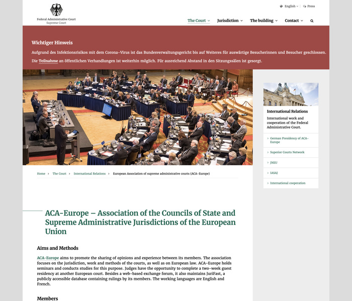 Bundesverwaltungsgericht website 2