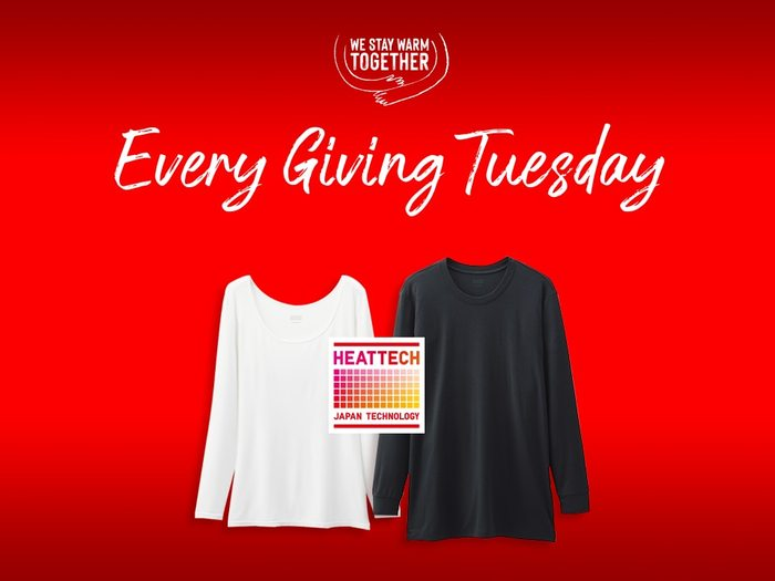 """""""Every Giving Tuesday"""" campaign by Uniclo 3"""