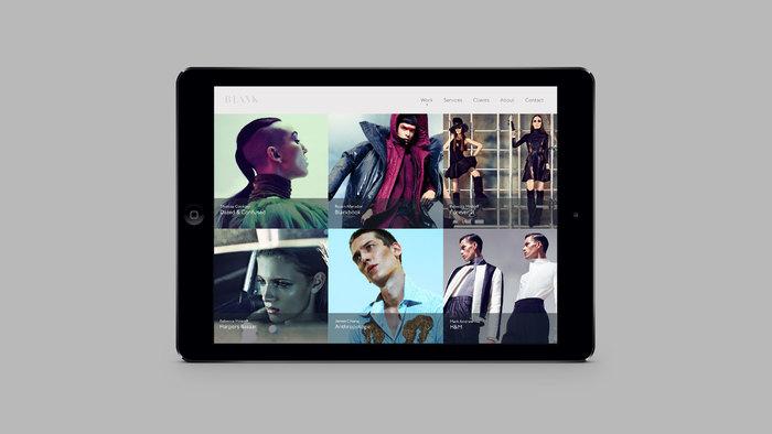Blank Digital brand identity 8