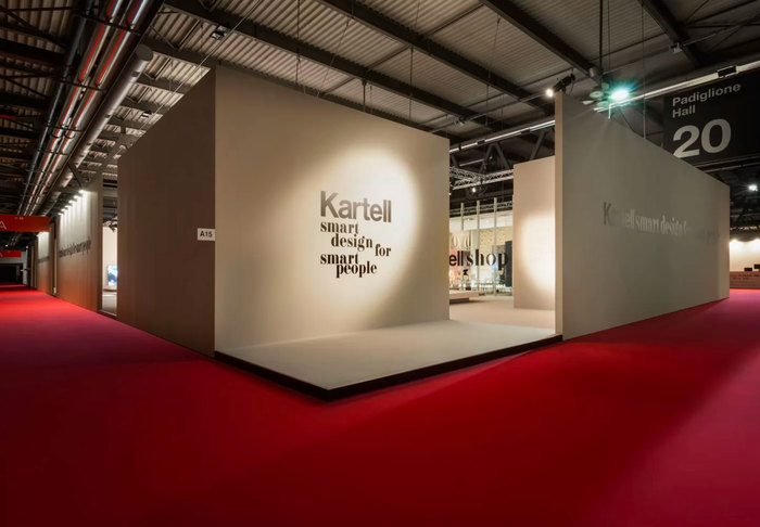 Kartell 2018 Salone del Mobile stand 1