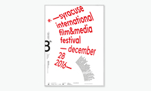 Syracuse International Film & Media Festival 2016 poster