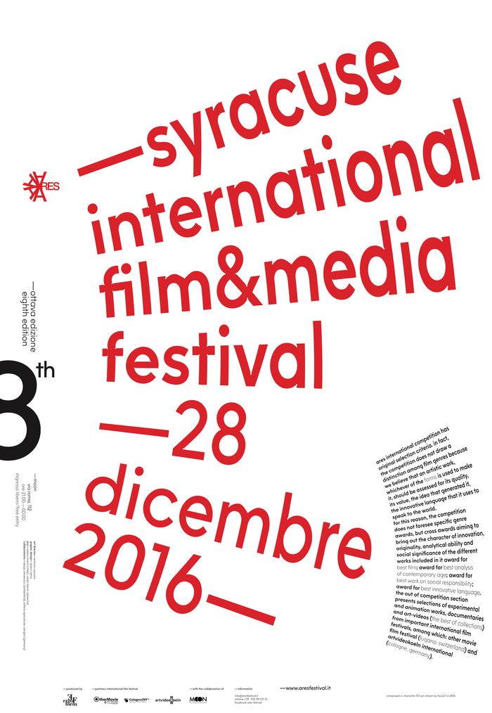 Syracuse International Film & Media Festival 2016 poster 1