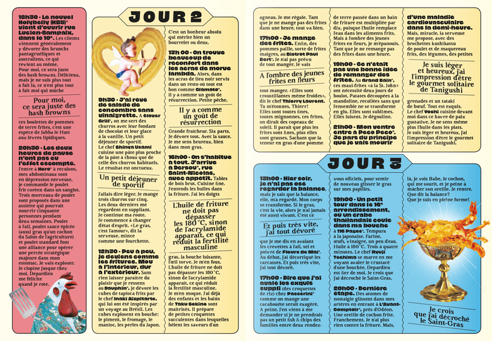 Guide Friture for Le Fooding 9