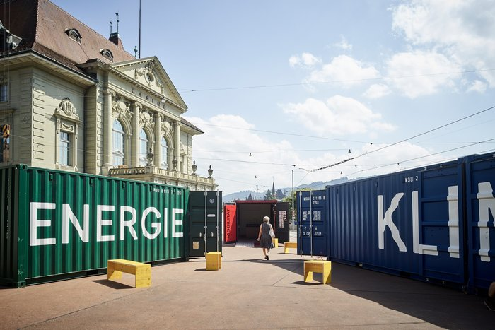 Container³ – an exhibition on global climate change and local climate protection 1