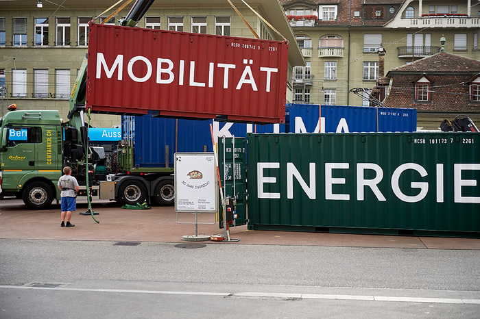 Container³ – an exhibition on global climate change and local climate protection 2